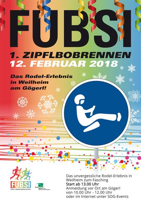 FUBSI Zipfelbob 2018