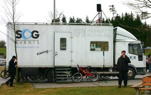 Mobiles Wettkampfbüro